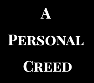 A Personal Creed 2